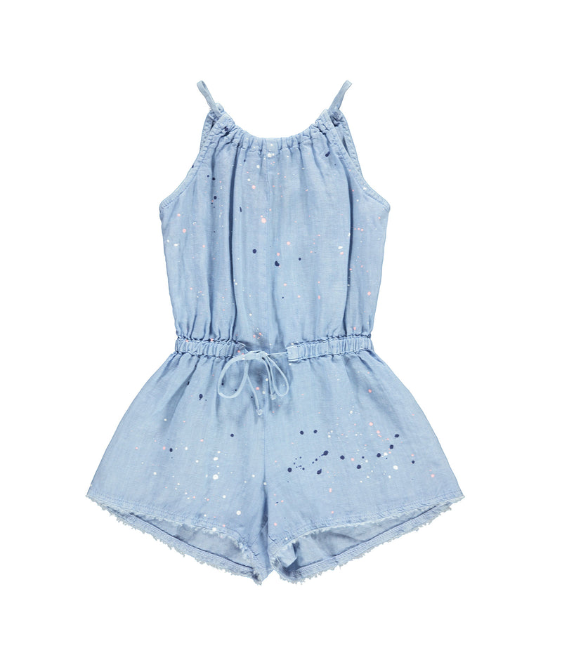 Bella Dahl Girls Sky Tier Romper