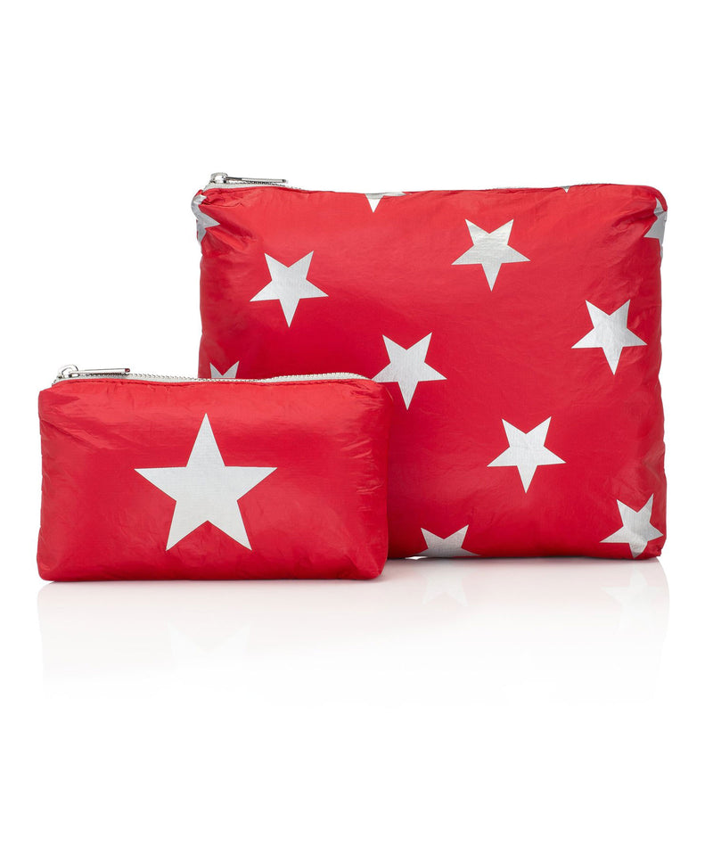 HI Love Travel Red Star 2 Pack