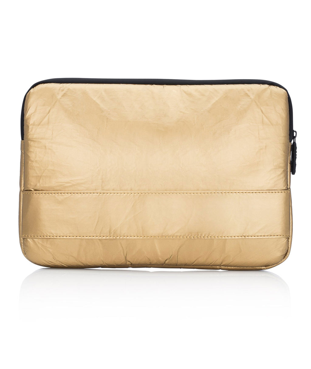 HI Love Travel Gold Computer Case