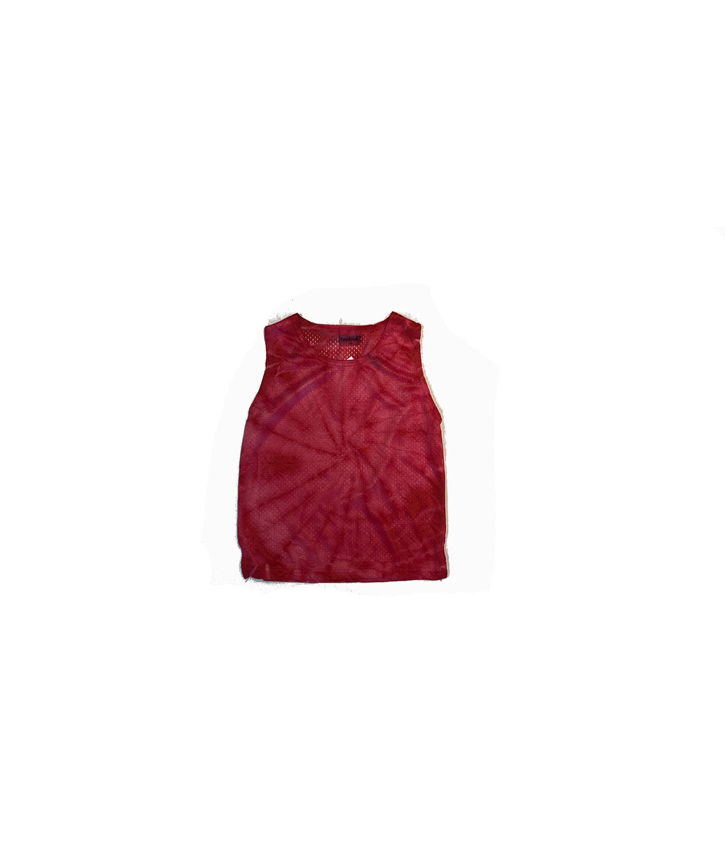 Firehouse Girls Red Tie-Dye Tank