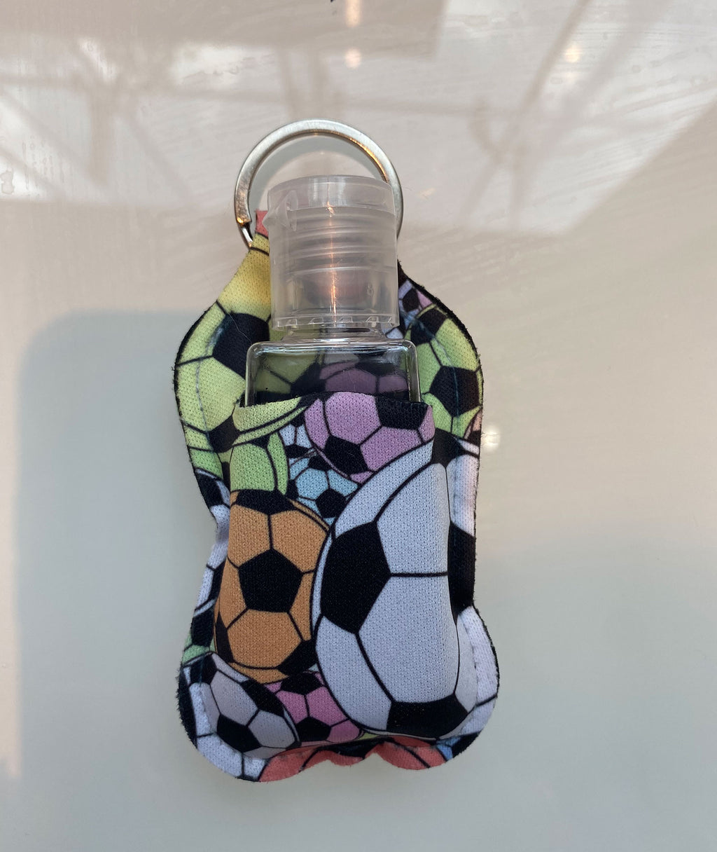 Truly Whimsical Hand Sanitizer Holder Soccer