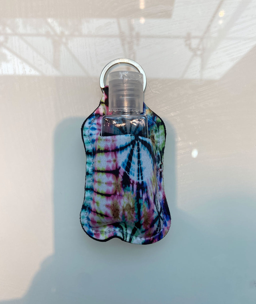 Truly Whimsical Hand Sanitizer Holder Splatter Tie-Dye