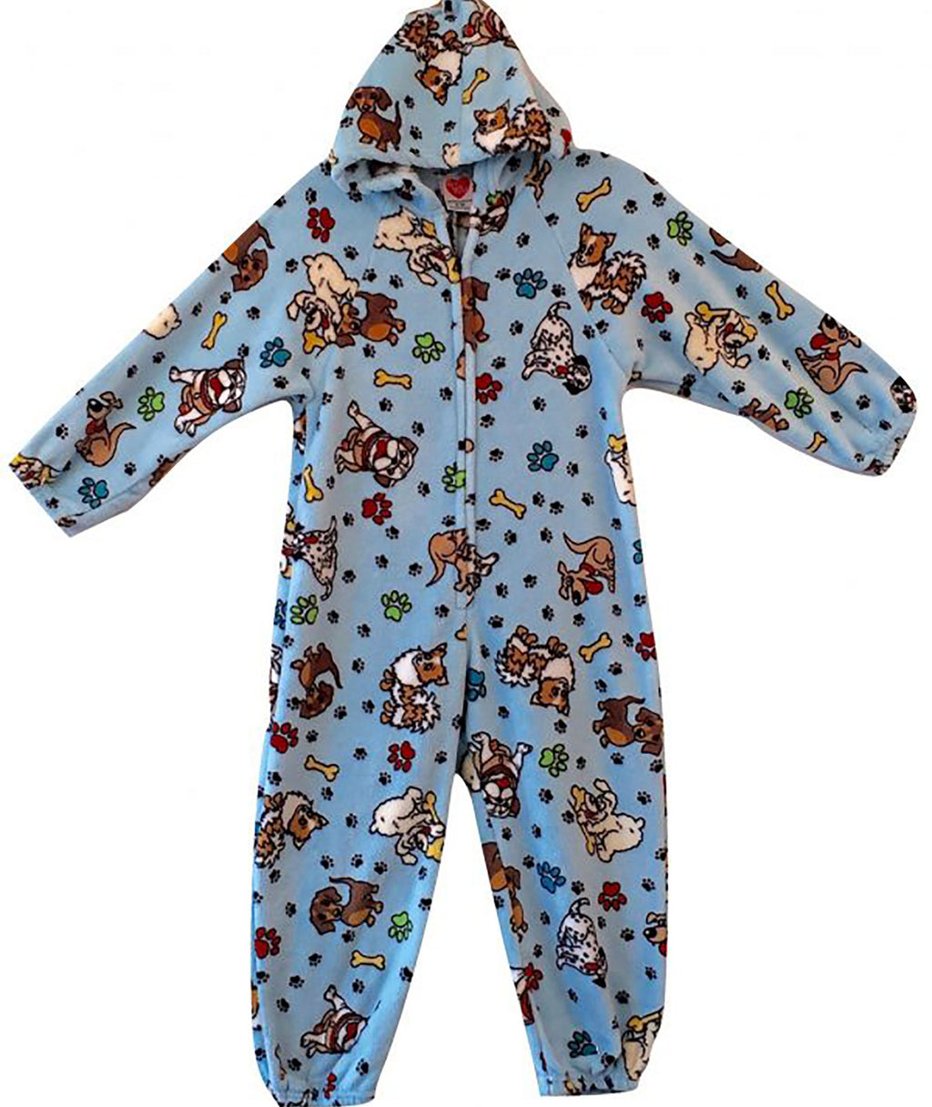 Made with Love and Kisses Dogs' N Paws Plush Jumpsuit