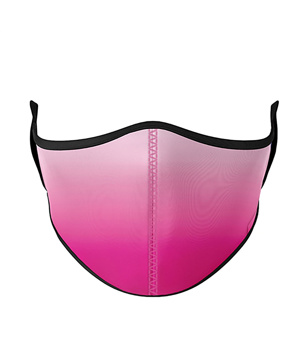 Top Trenz Pink Ombre One Size Ages 8+ Face Mask