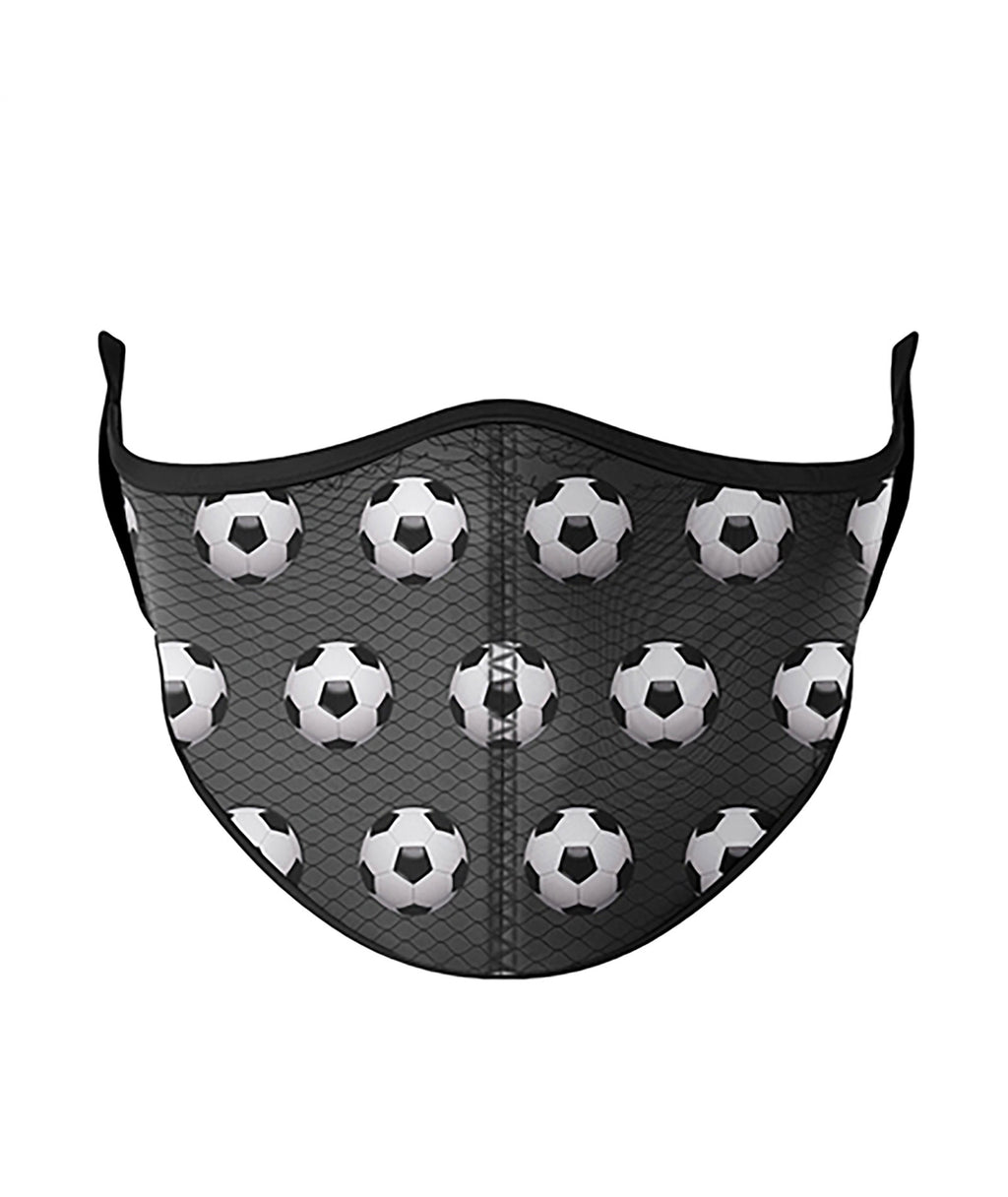 Top Trenz Soccer One Size Ages 8+ Face Mask
