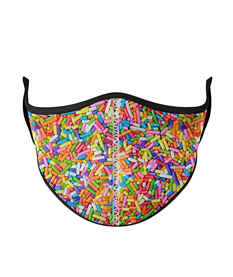 Katie J NYC One Size Bright Tie-Dye Face Mask