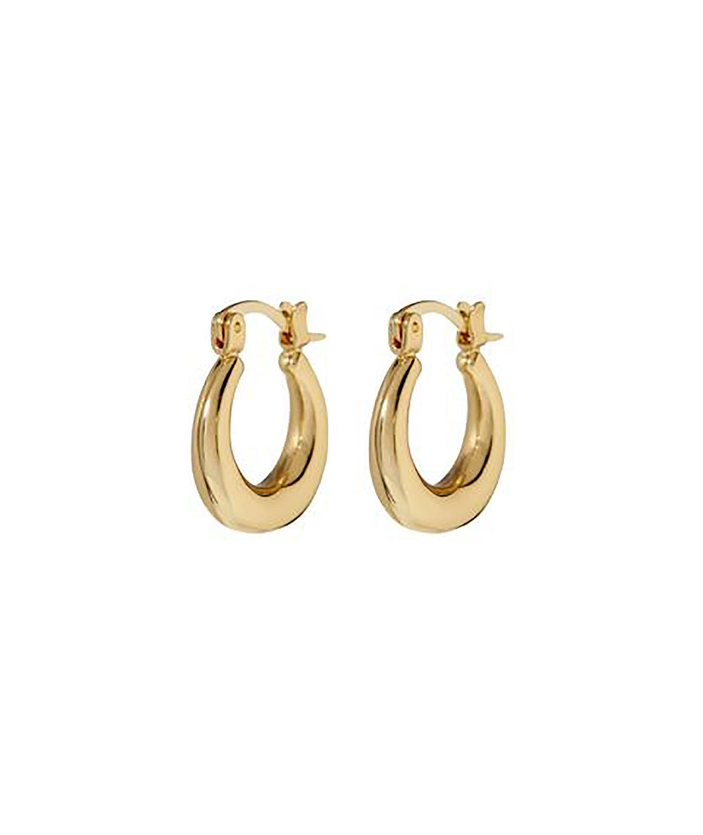Luv AJ Mini Martina Gold Hoops