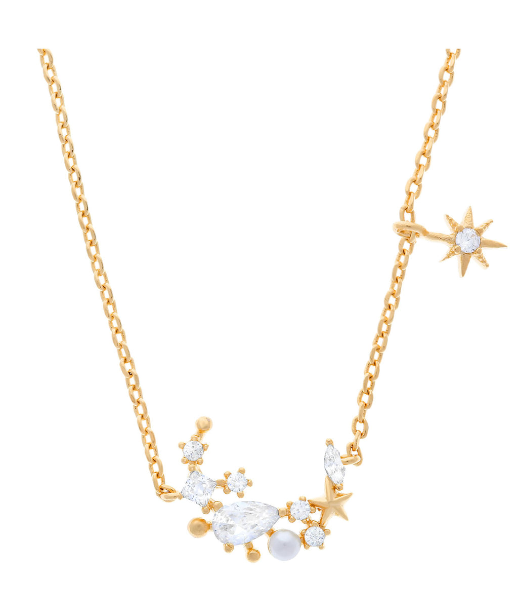Girls Crew Gold Moonlight Necklace