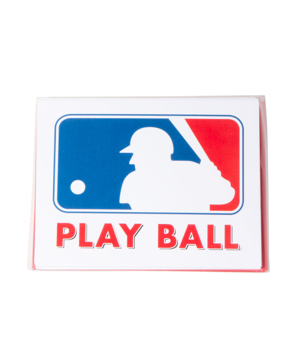 Staci-Nary Pack of 10 Cards Play Ball