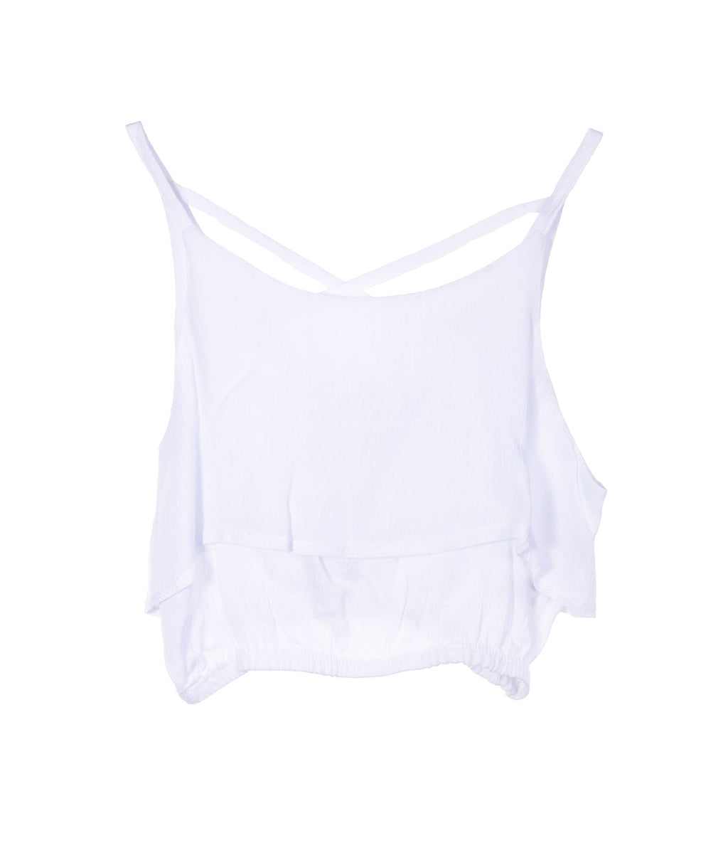 Pinc Premium Girls White Tank