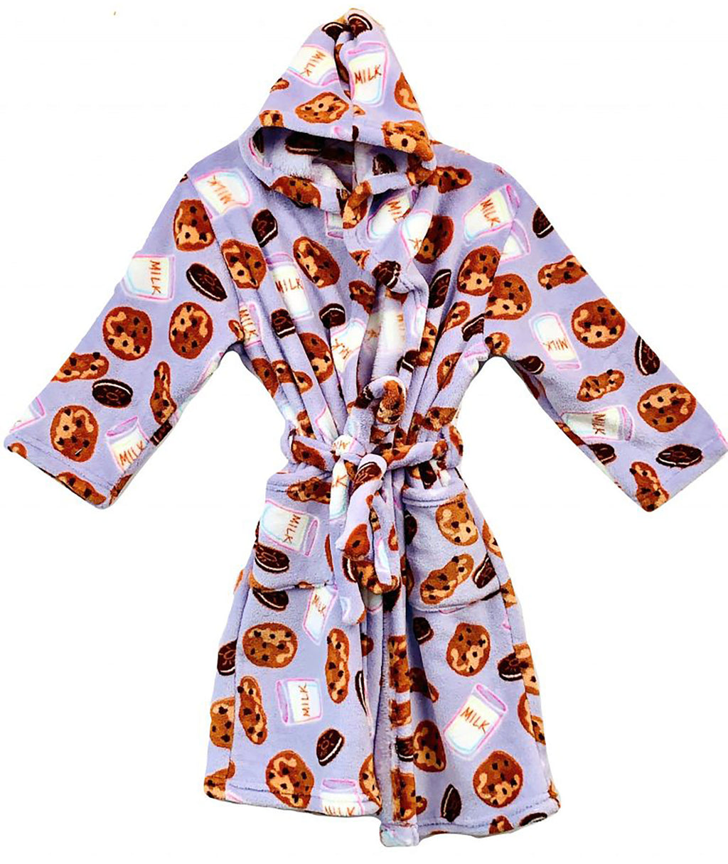 Made with Love and Kisses Milk and Cookies Robe