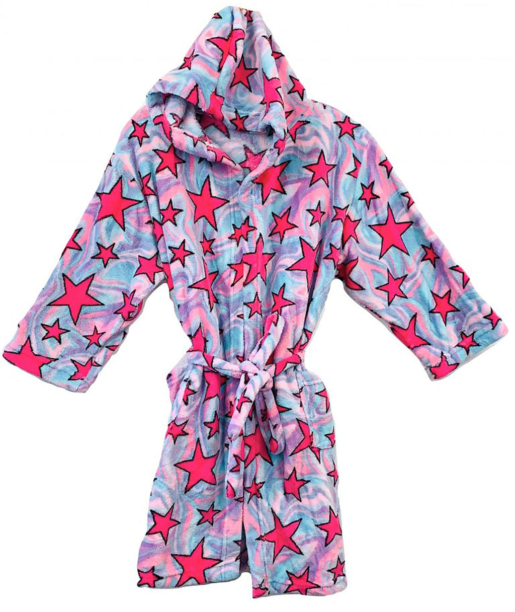 Made with Love and Kisses Swirl Star Robe