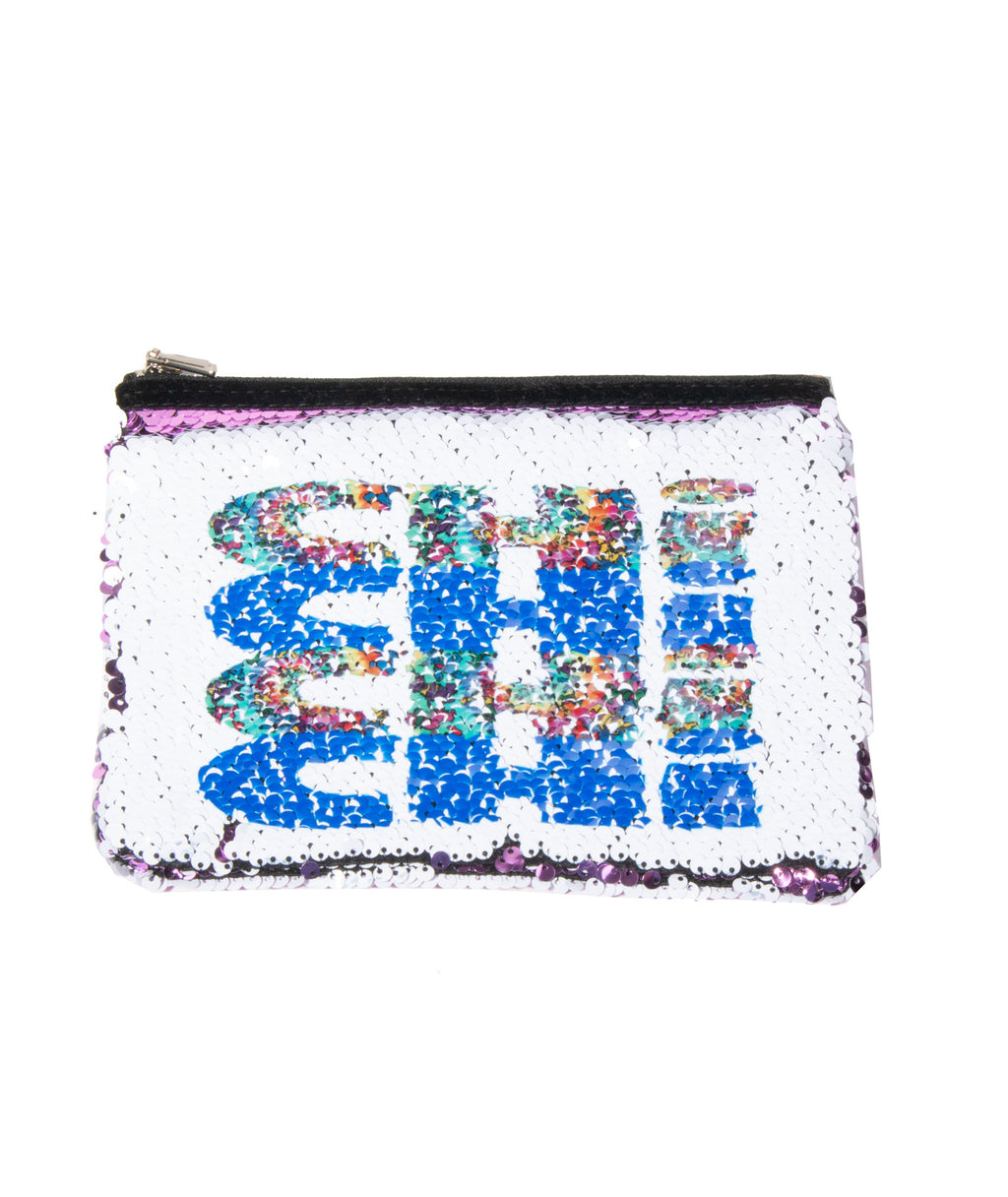 Reverse Sequin Cos Case Mini Repeat Pattern