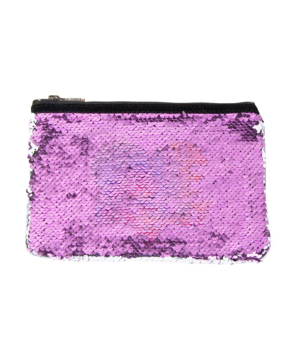 Reverse Sequin Cos Case Mini Love & Heart