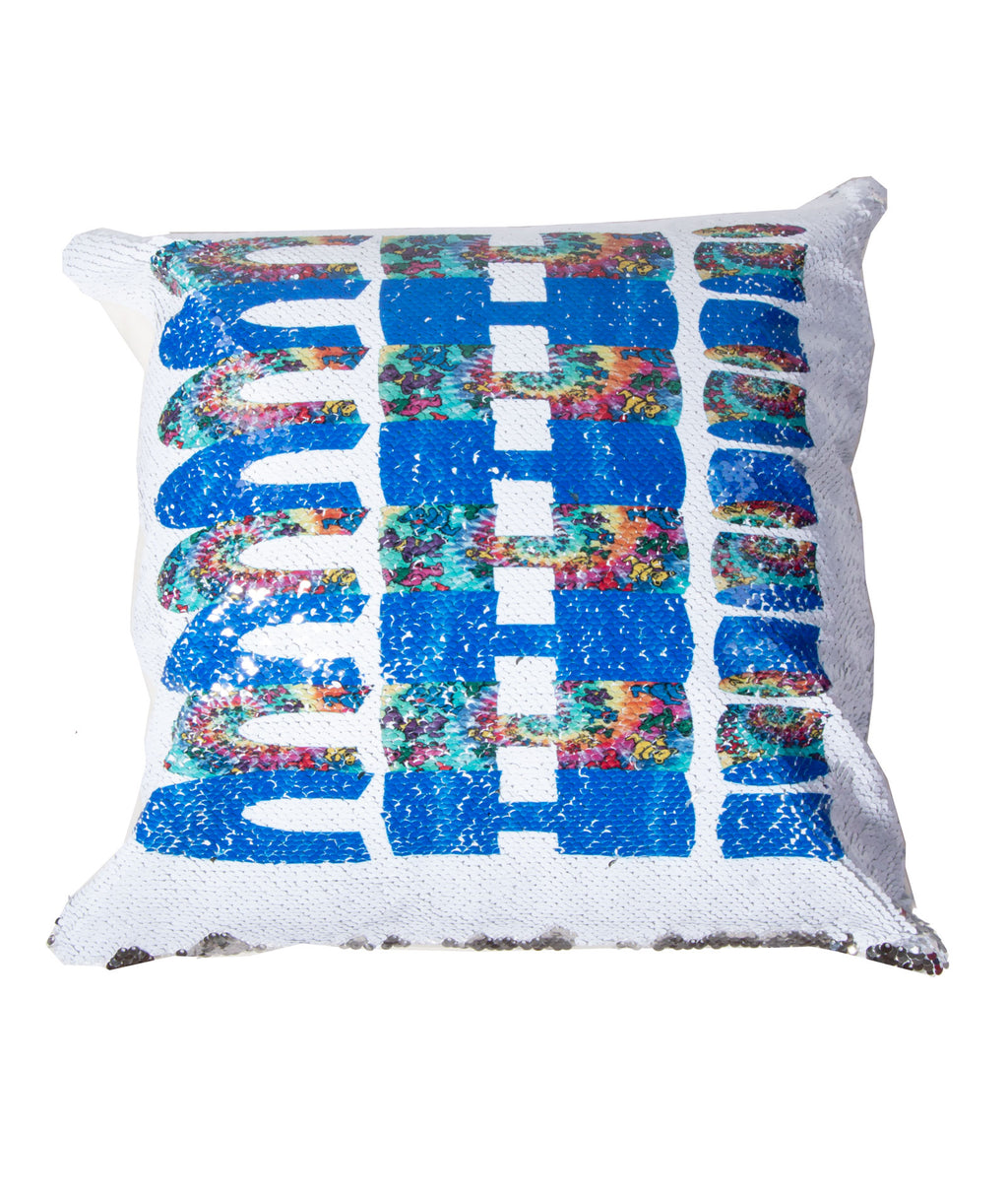 Reverse Sequin Pillow Repeat Pattern