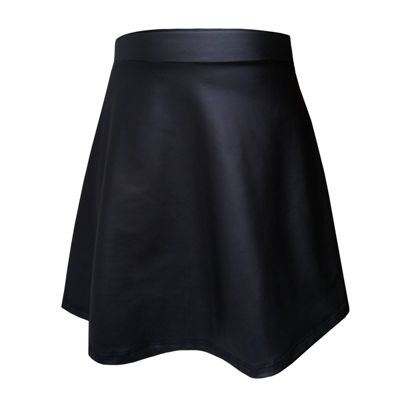 Katie J NYC Girls Aspen Black Mini Skirt