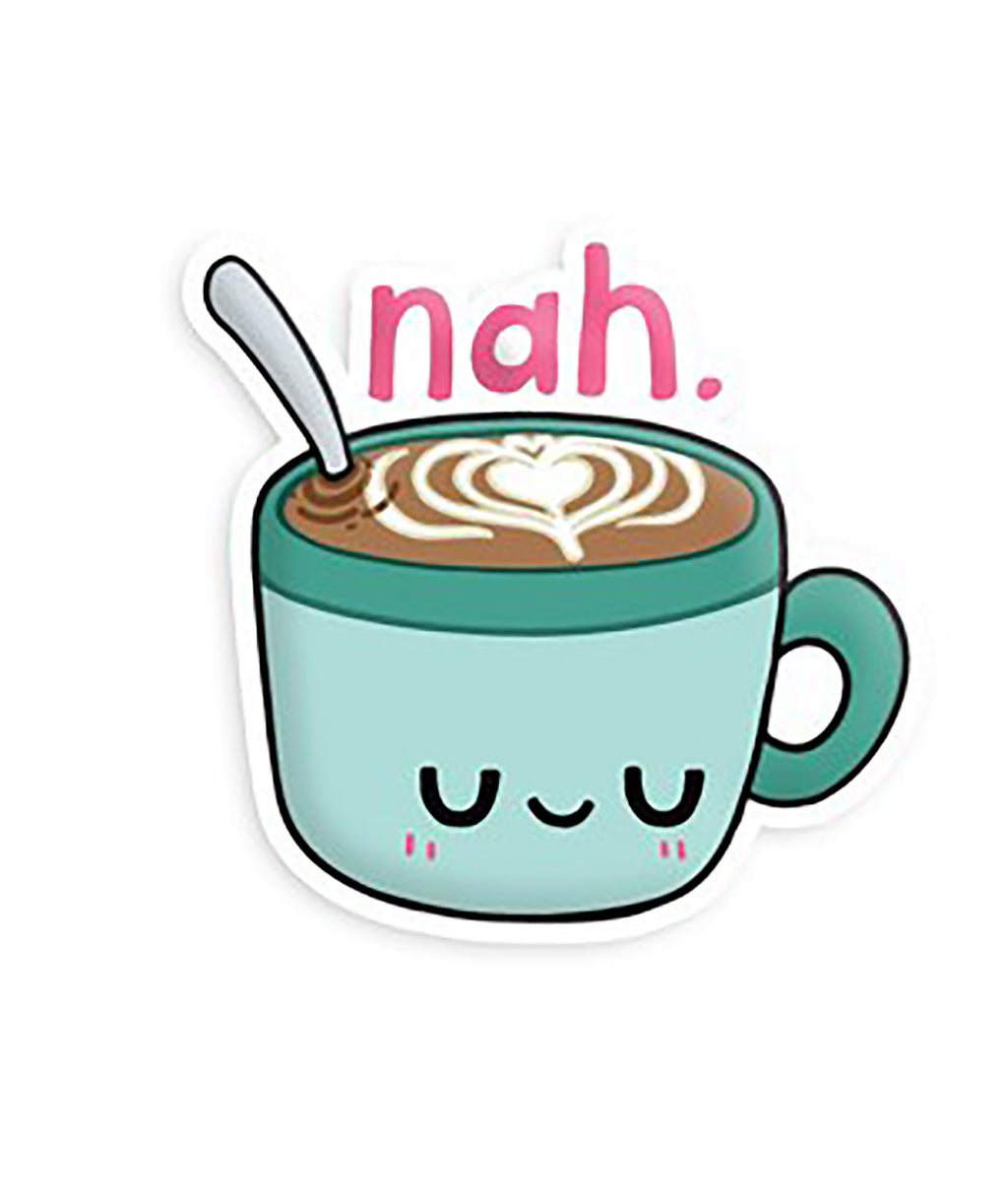 Squishable Vinyl Sticker Nah Hot Chocolate