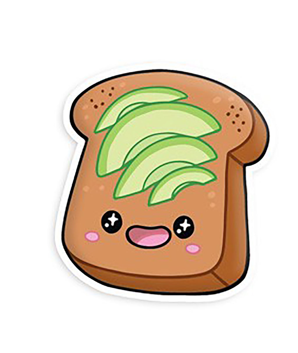Squishable Vinyl Sticker Avocado Toast