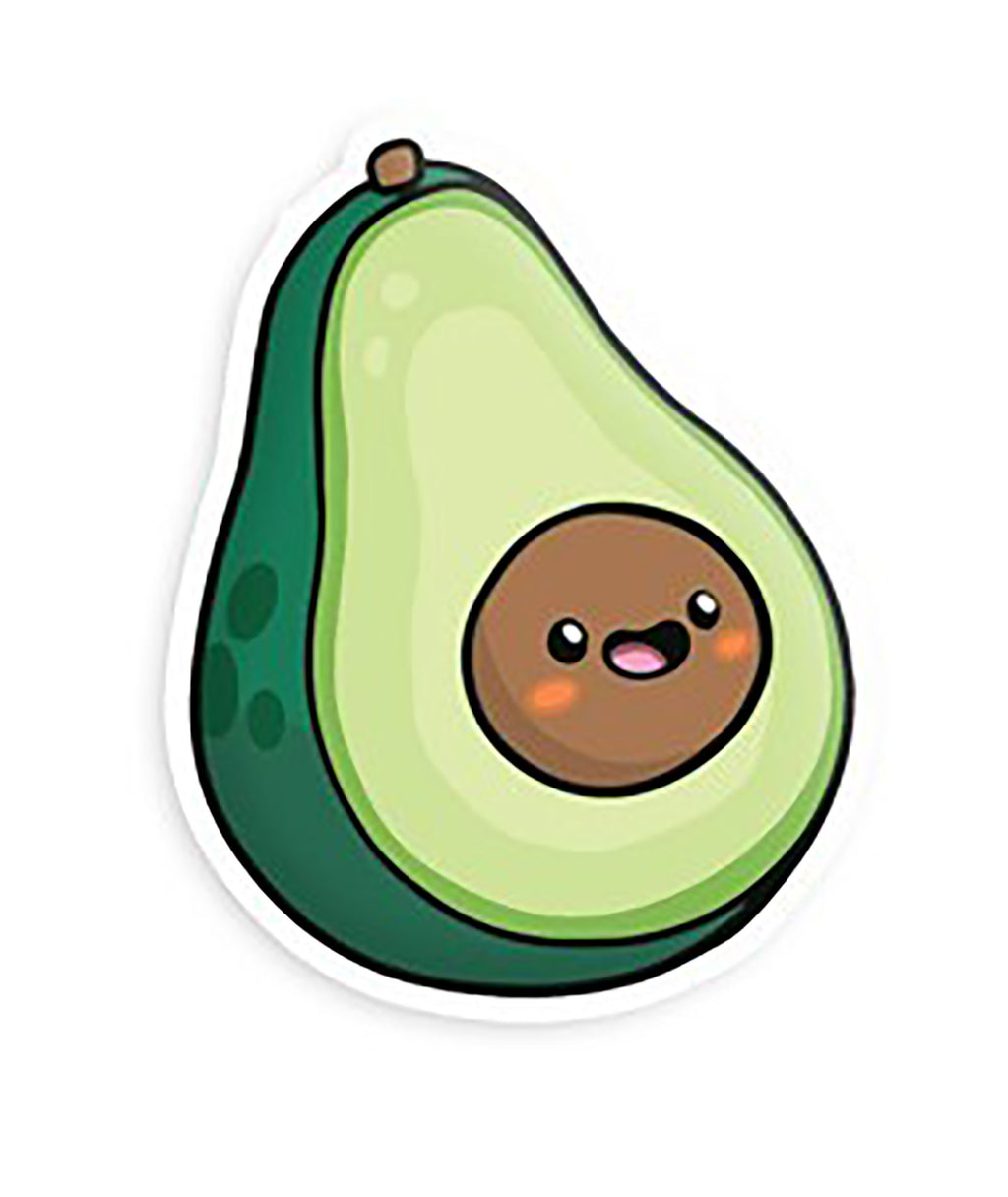 Squishable Vinyl Sticker Big Avocado