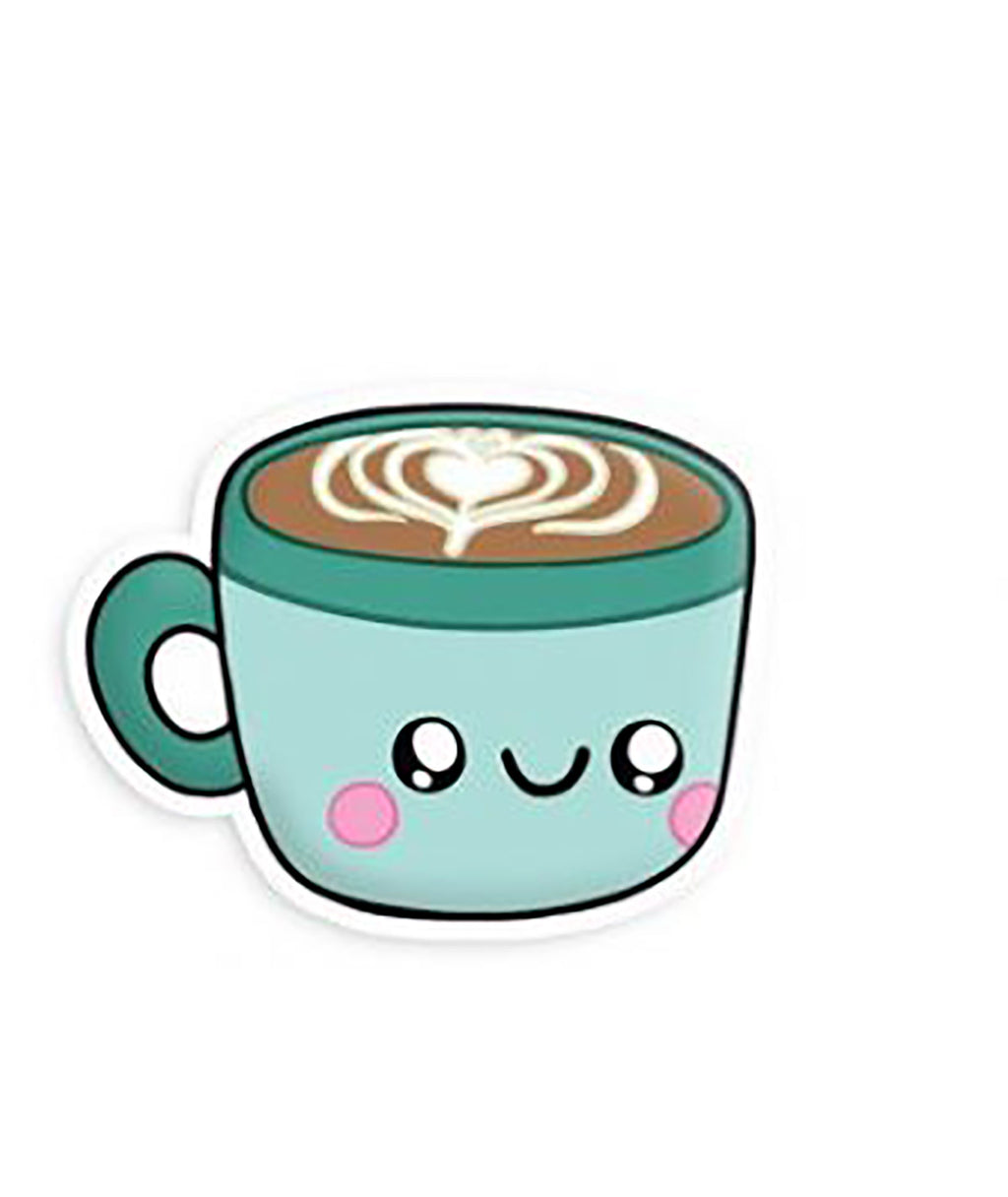 Squishable Vinyl Sticker Hot Chocolate