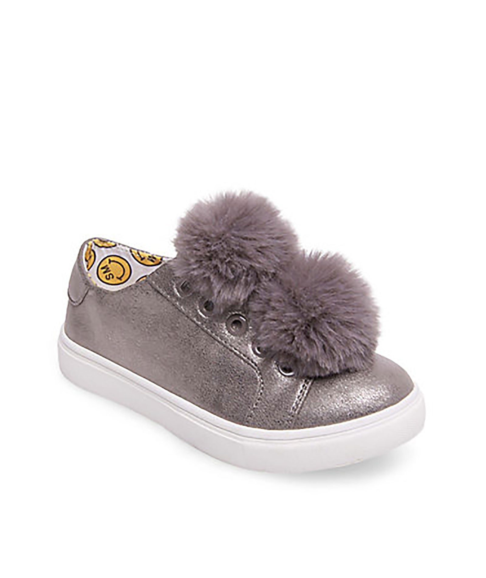 steve madden shoes with fur pom pom boots girls 1000587