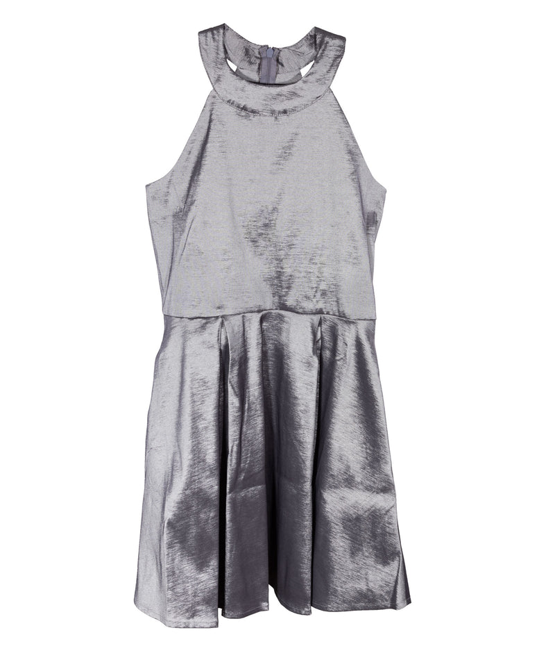 Sally Miller Girls Platinum Pocket Dress