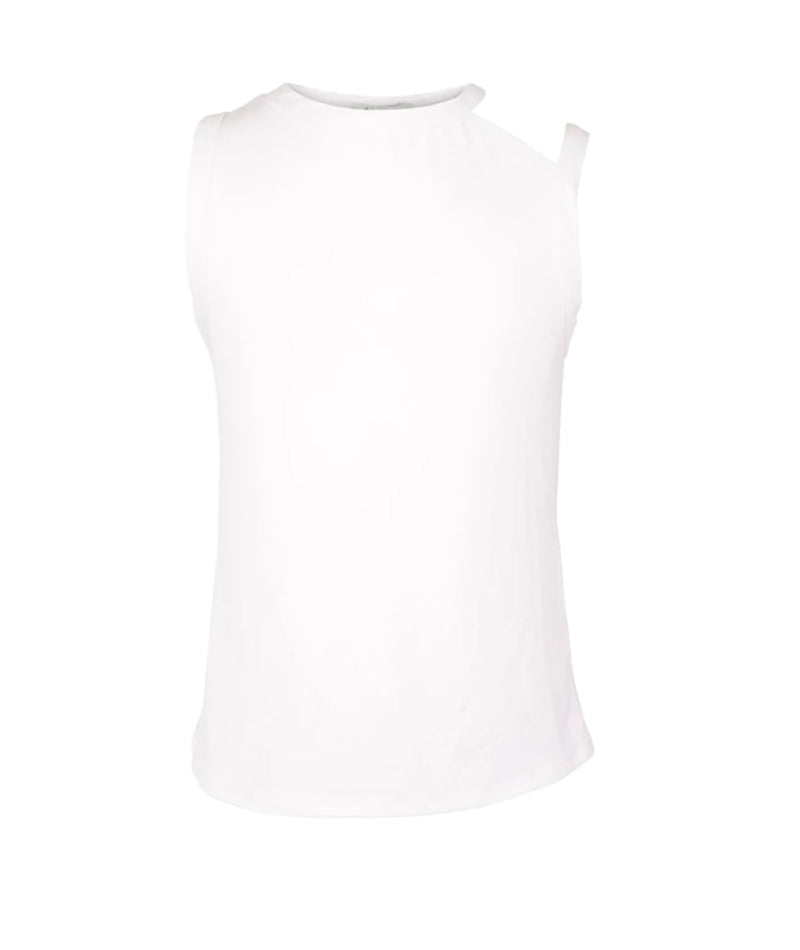 Pinc Premium Girls White Cut-Out Tank