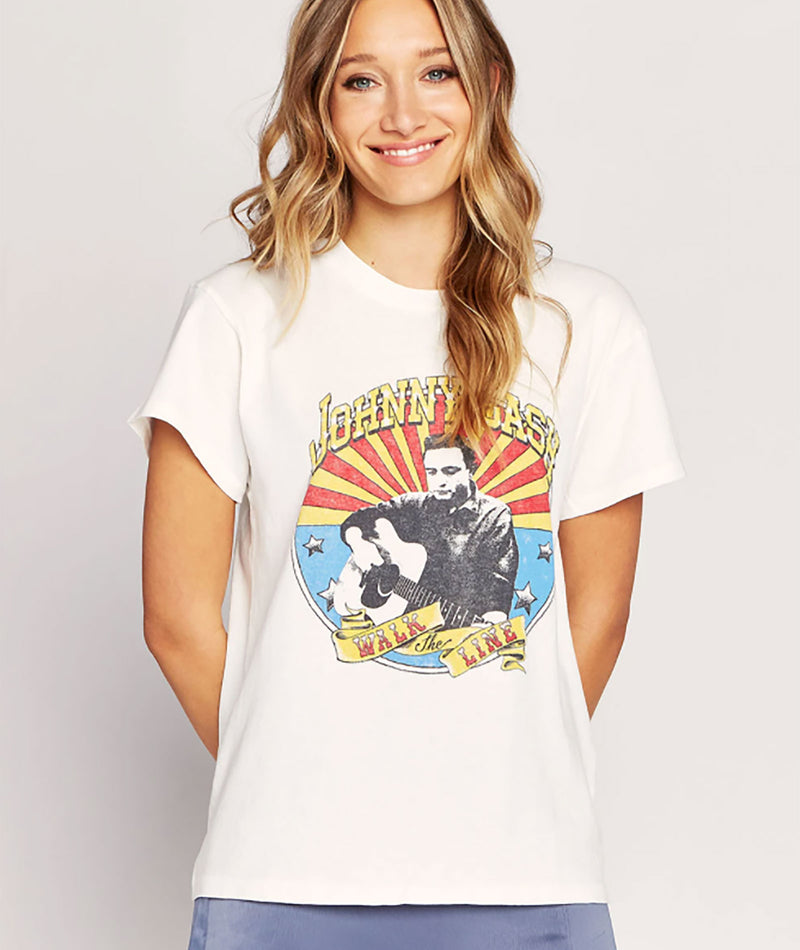 Daydreamer Women Johnny Cash The Icon Tour Tee