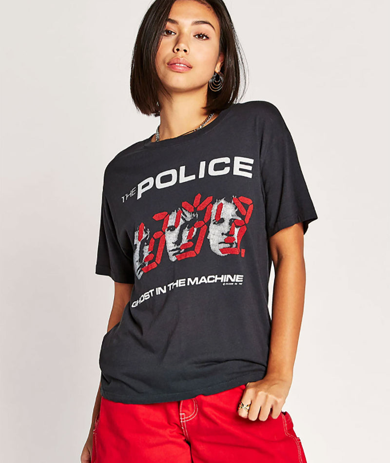 Daydreamer Women Police Ghost in the Time Machine Tee