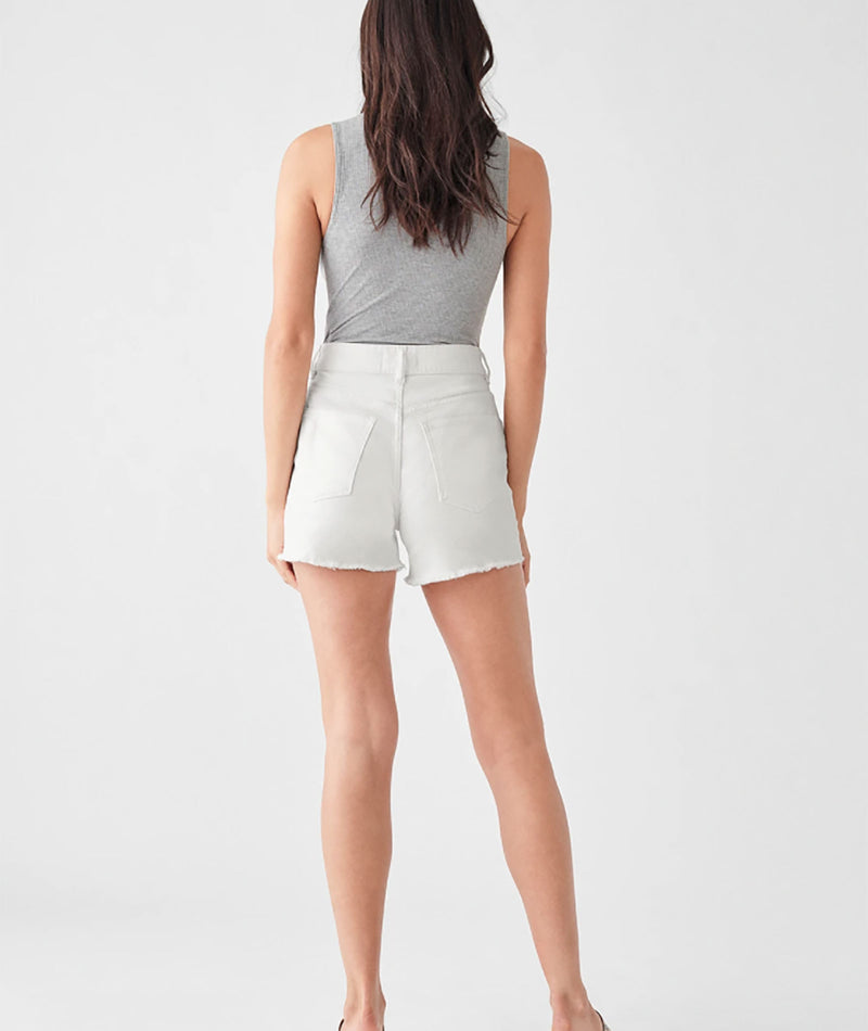 DL1961 Women Cecilia White Shorts
