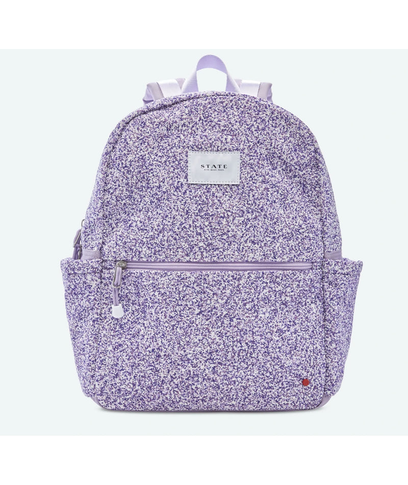 Bari Lynn Denim Tie-Dye Backpack