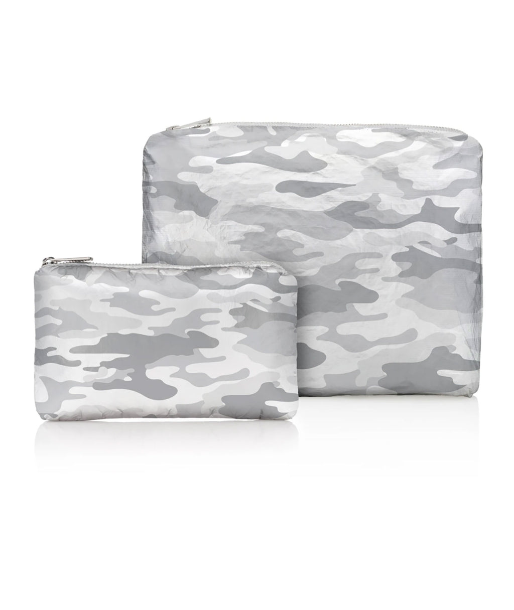 HI Love Travel Two Pack Silver Camo
