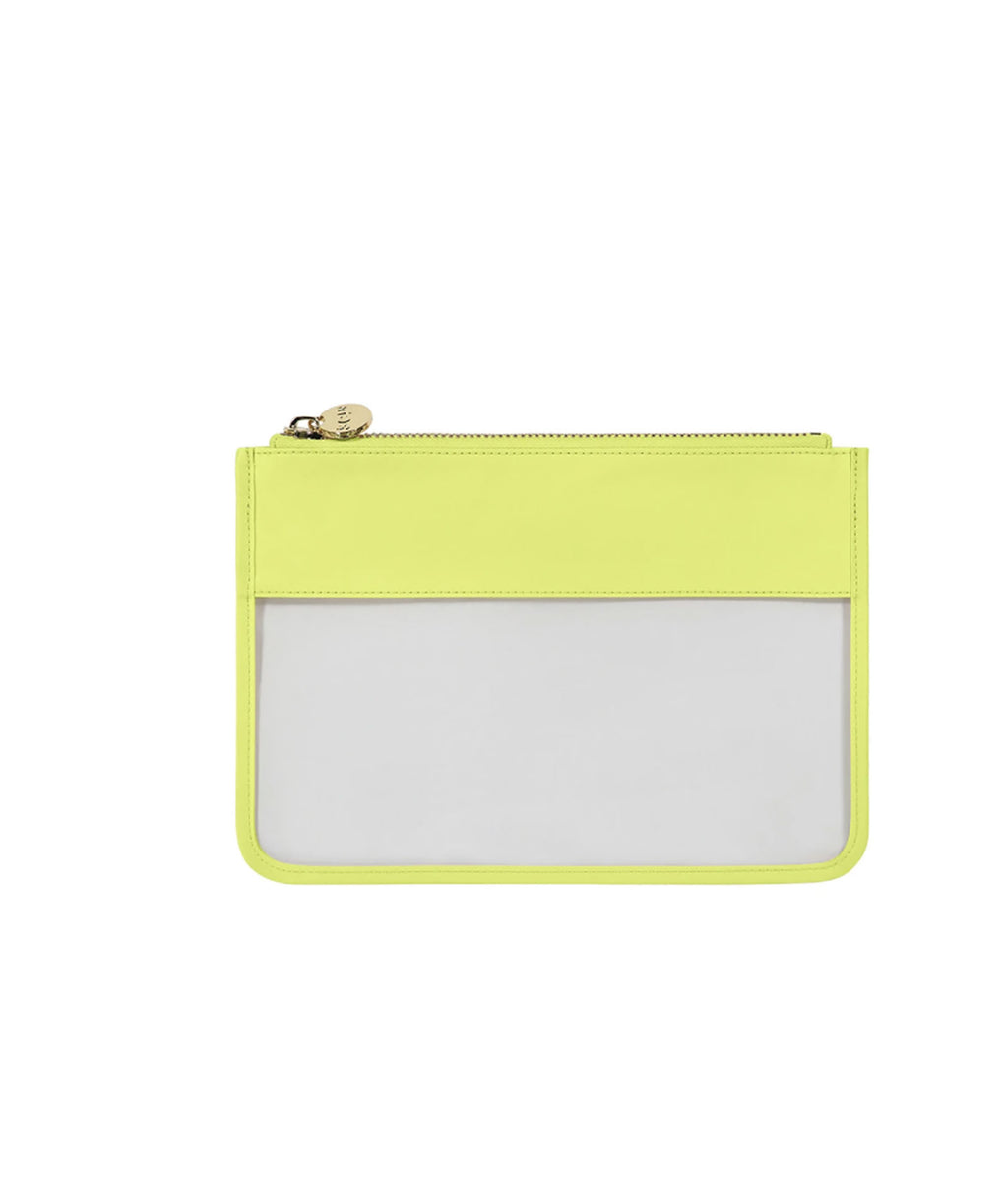 Stoney Clover Lime Classic Clear Flat Pouch