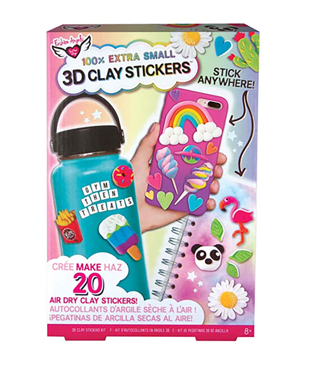 Fashion Angels 3D Mini Clay Sticker Kit