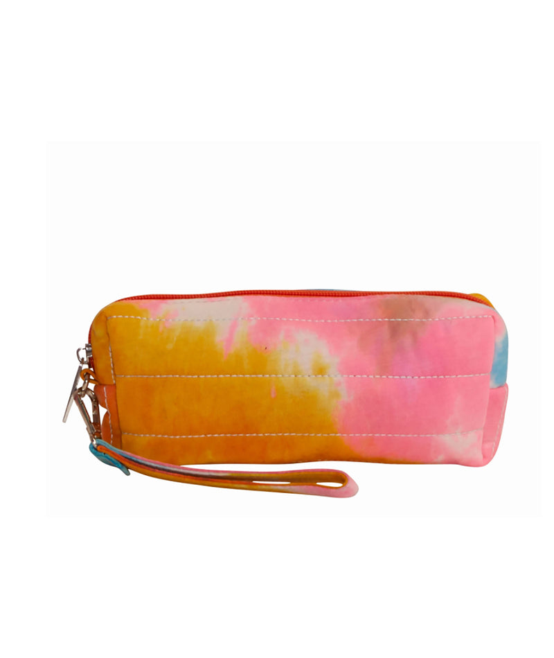 Bari Lynn Denim Tie-Dye Pencil Case