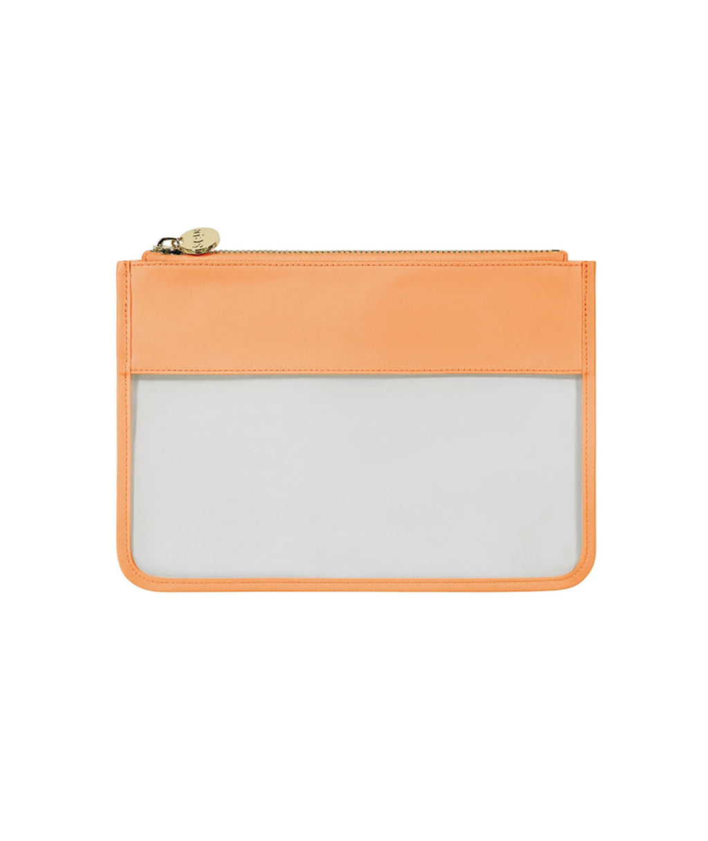 Stoney Clover Peach Classic Clear Flat Pouch