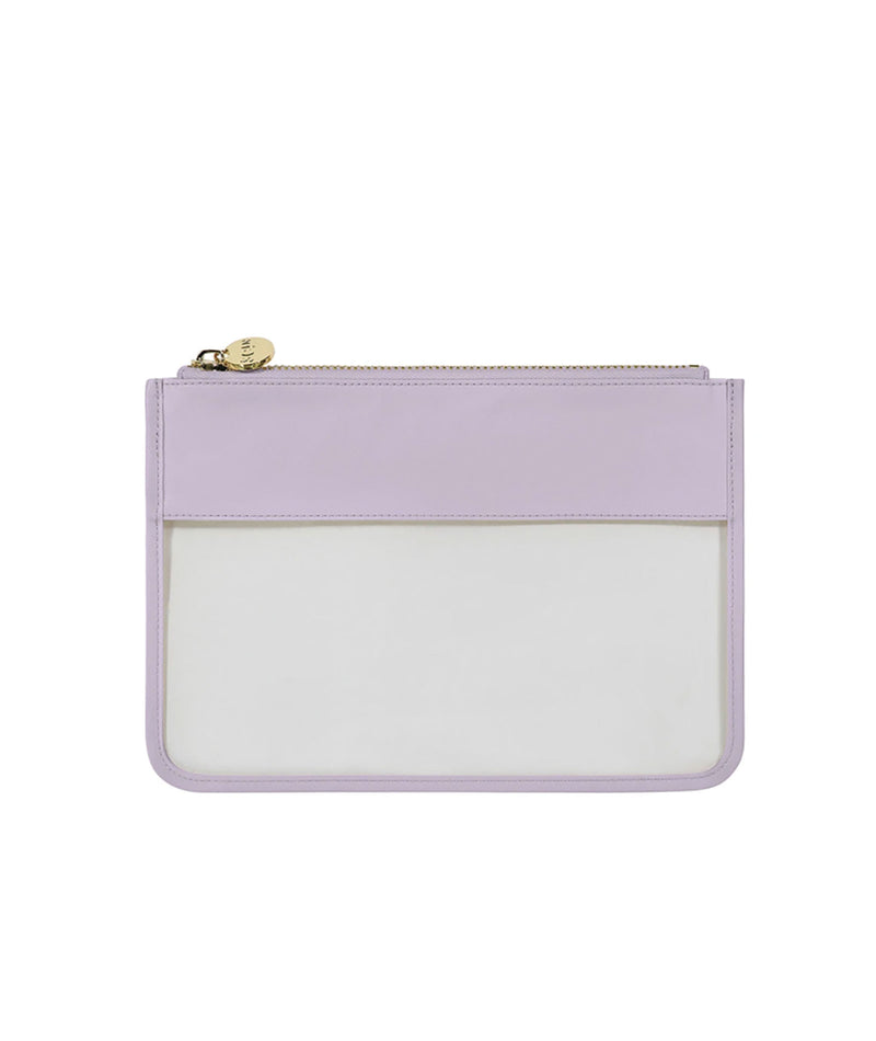 Stoney Clover Lilac Classic Clear Flat Pouch