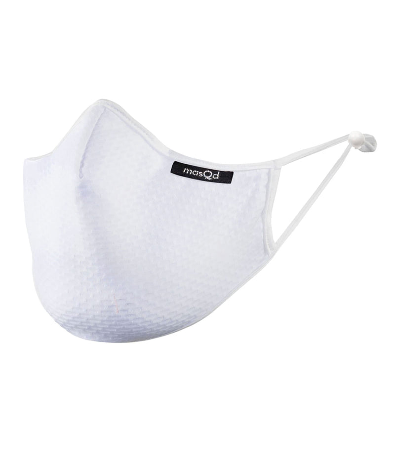 masQd Adults Mask With Filter Pocket Ultrasport White