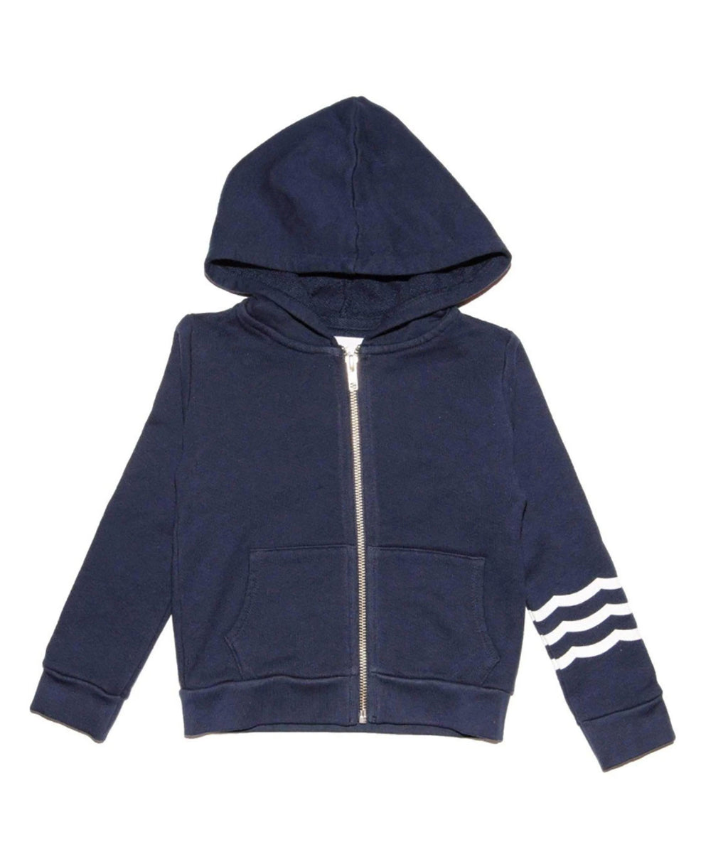 Sol Angeles Girls Indigo Waves Hoodie