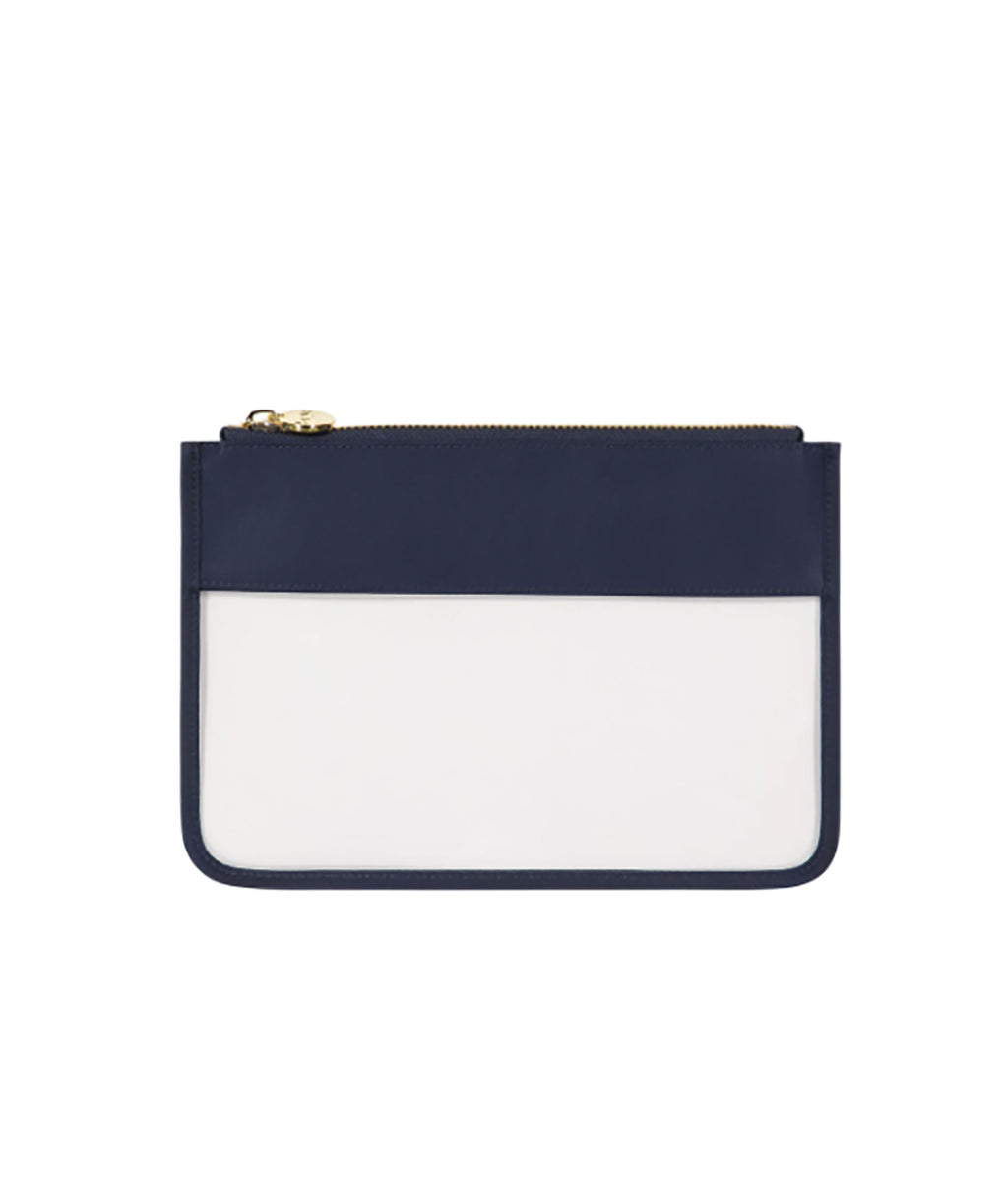 Stoney Clover Sapphire Classic Clear Flat Pouch