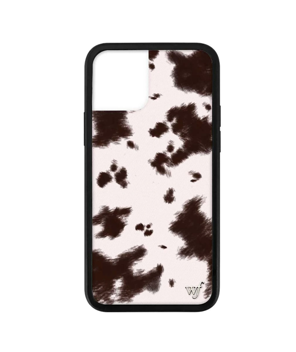Wildflower Phone Case Cowhide