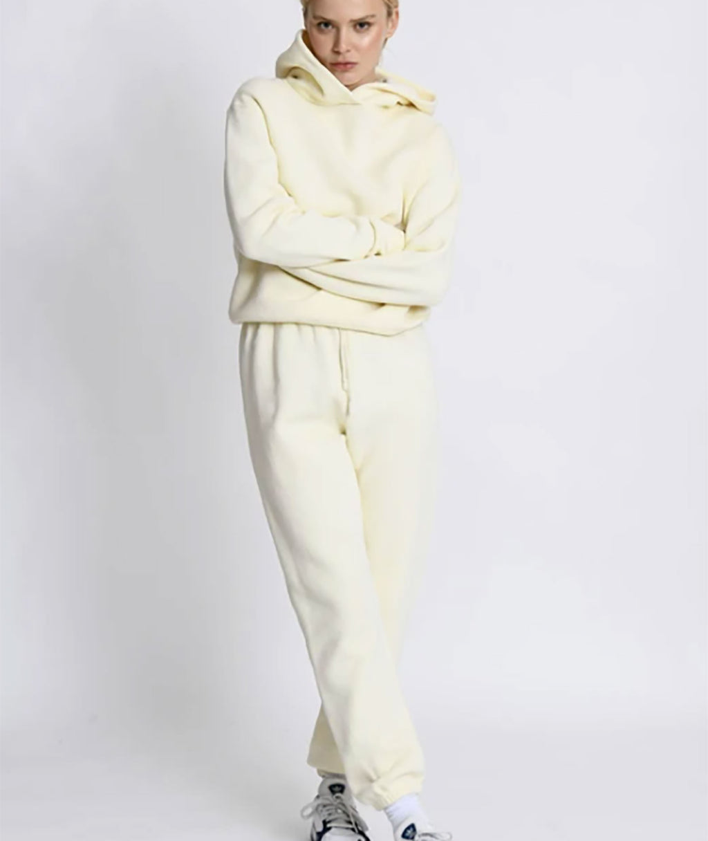 Perfect White Tee Women Freddie Joggers Butter