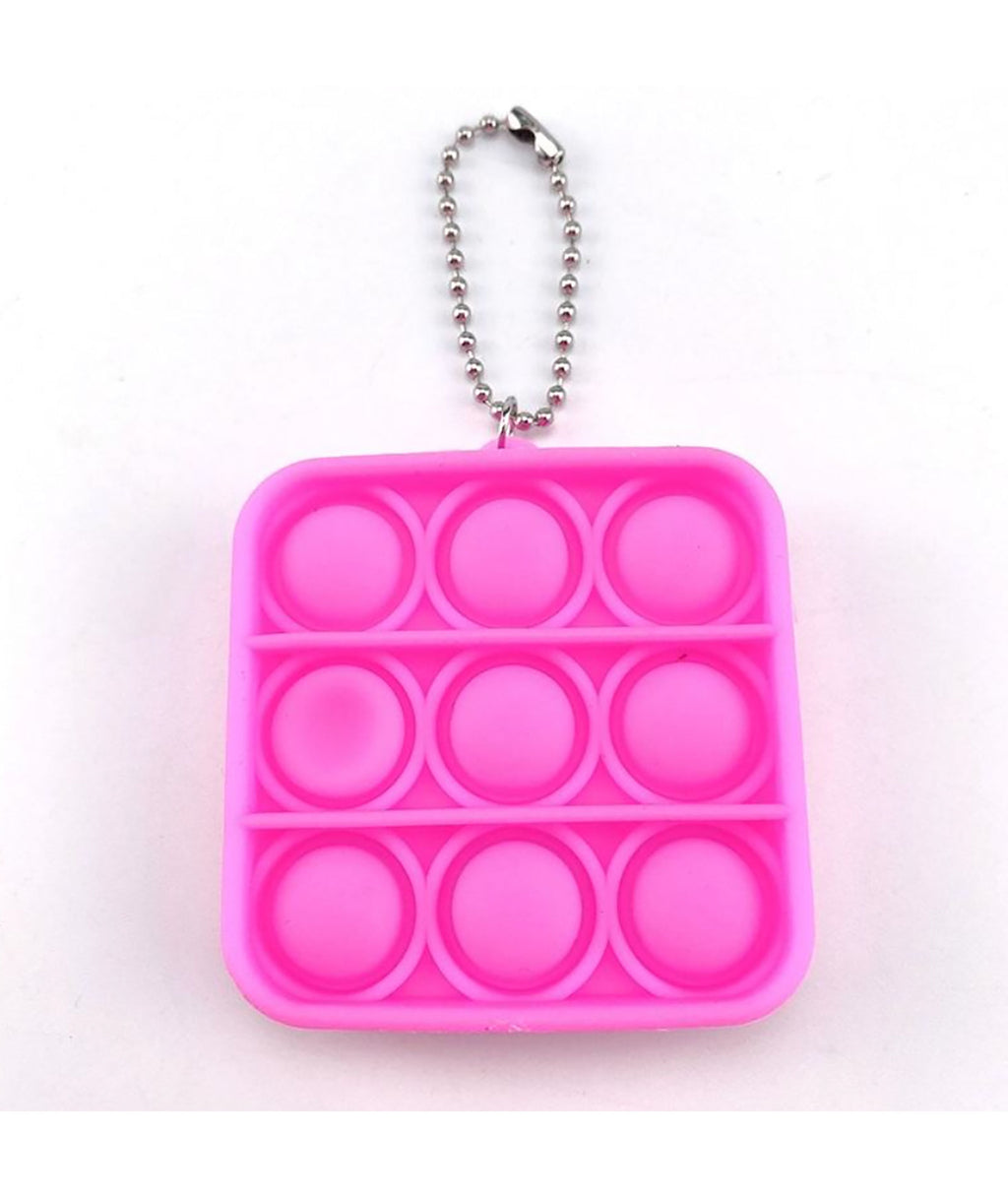 Fidget Pops Mini Key Chain Square