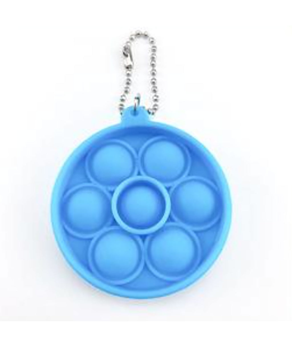 Fidget Pops Mini Key Chain Circle