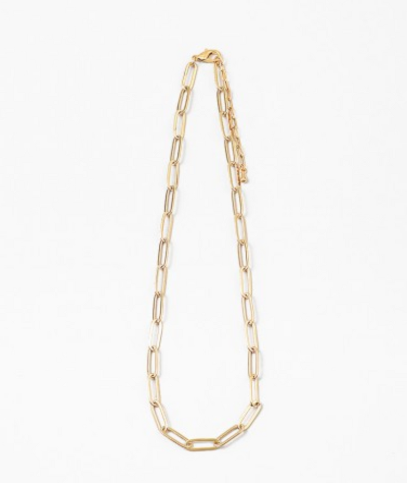 Gracia Sencilla Flat Heart Necklace
