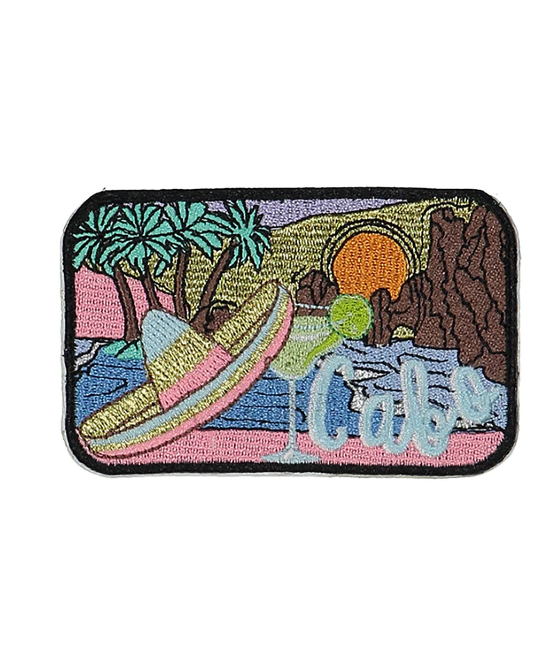 Stoney Clover Glitter Palm Tree Patch