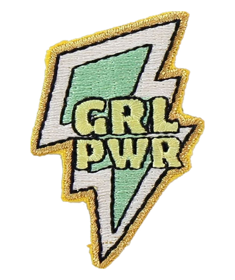 Stoney Clover Girl Power Patch