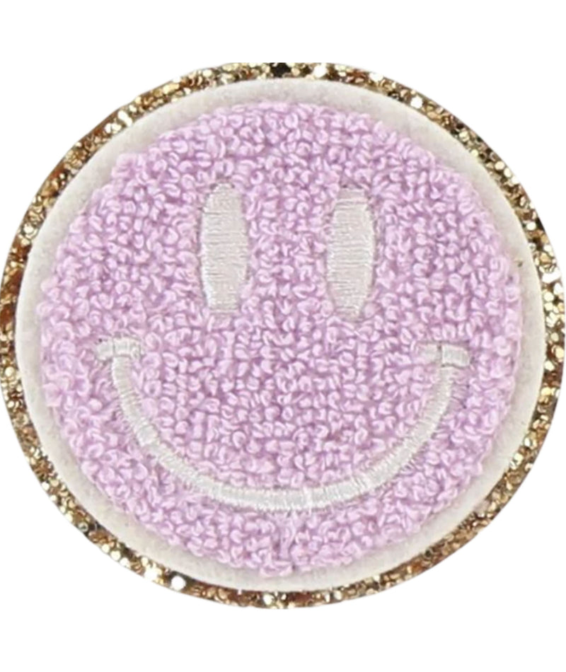 Stoney Clover Glitter Smiley Face Patch