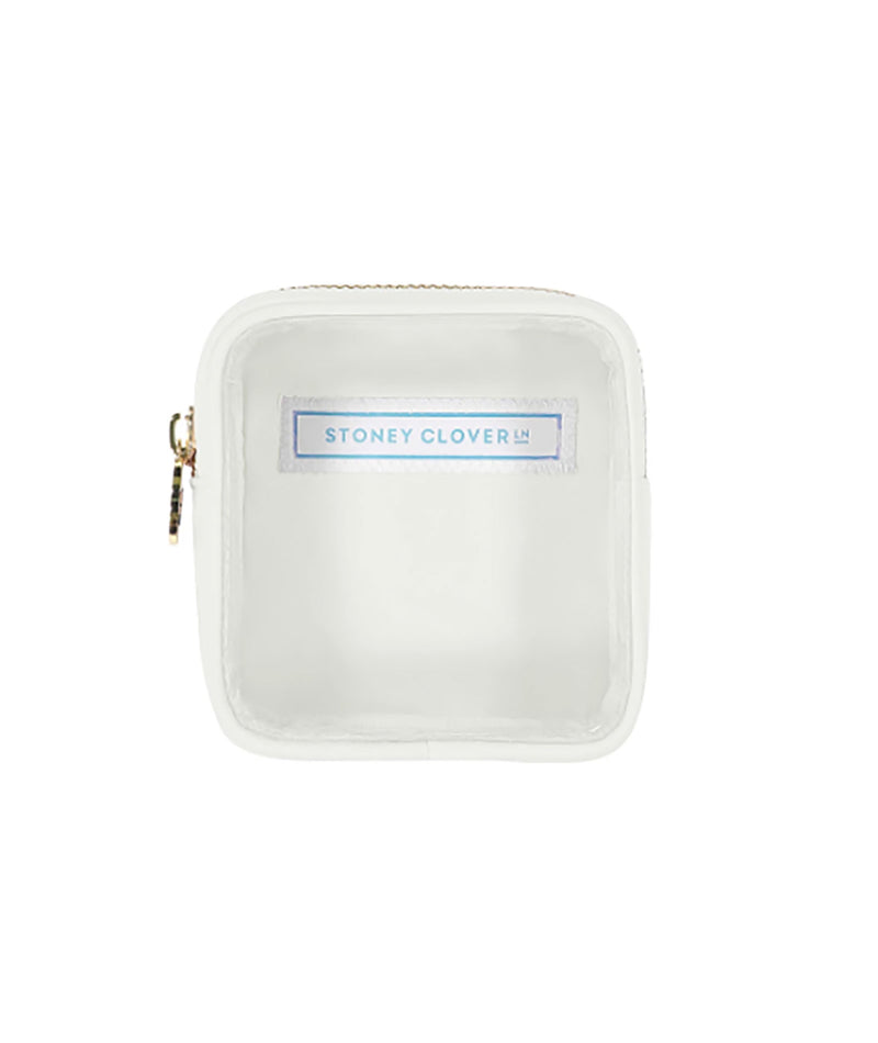 Stoney Clover Mini Blanc Clear Pouch