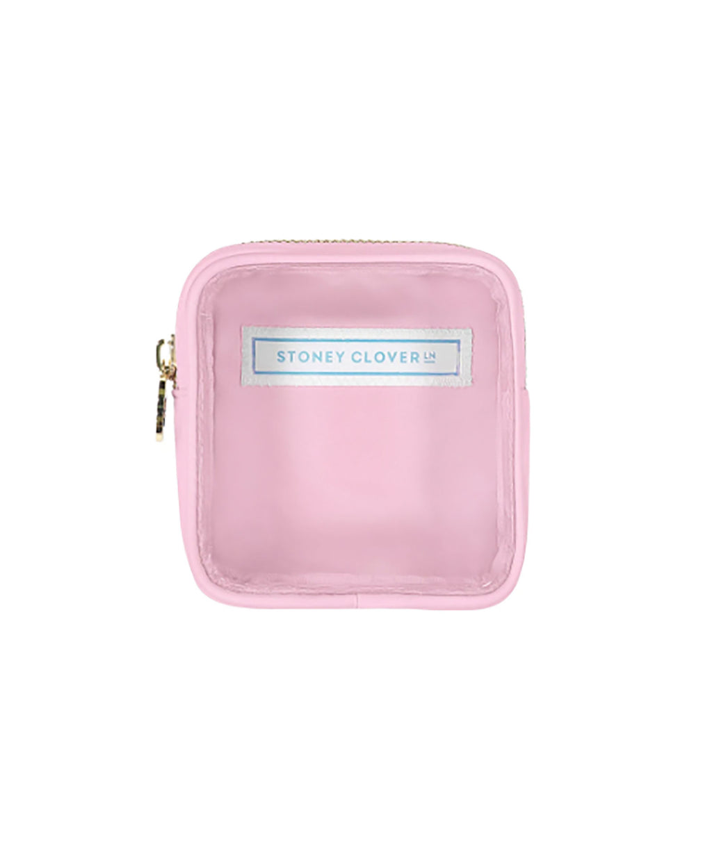 Stoney Clover Mini Flamingo Clear Pouch